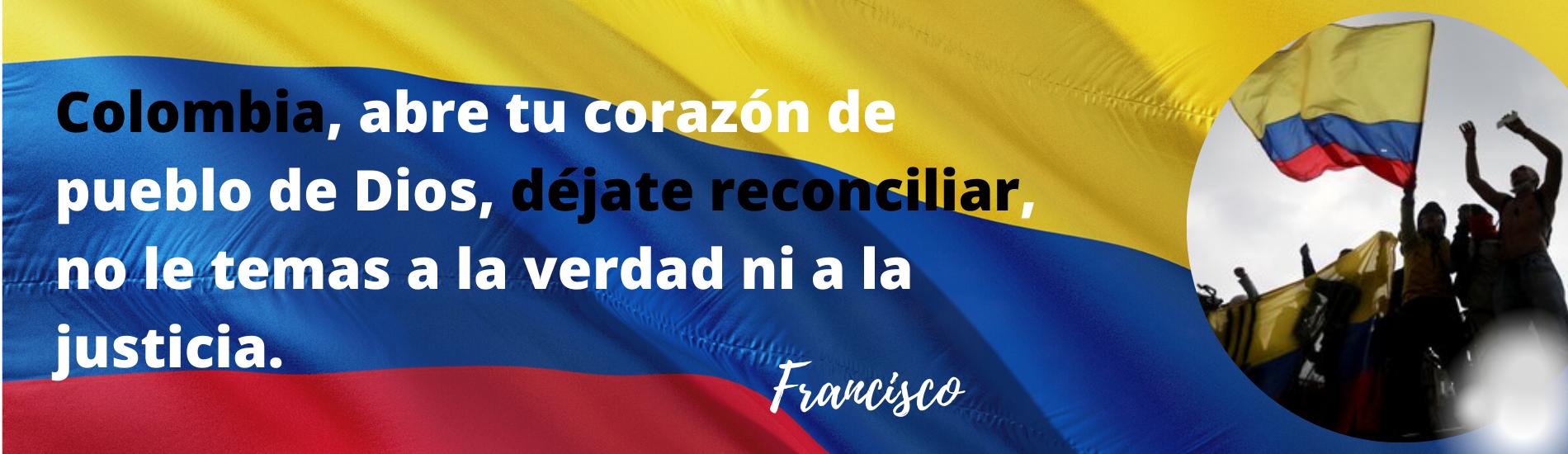 MENSAJE COLOMBIA PARO NACIONAL